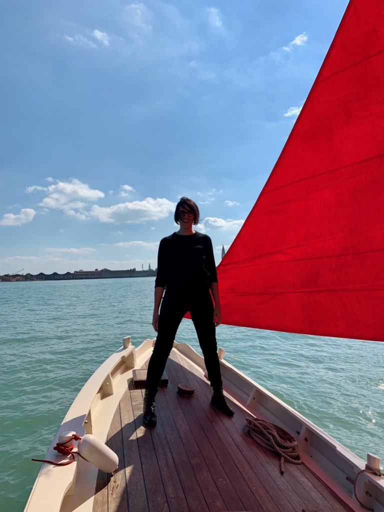 Artnet: This Artist Has Tapped Into Venice's Rich Maritime History With 100 Hand-Painted Sails That Will Float Through Venice During the Biennale