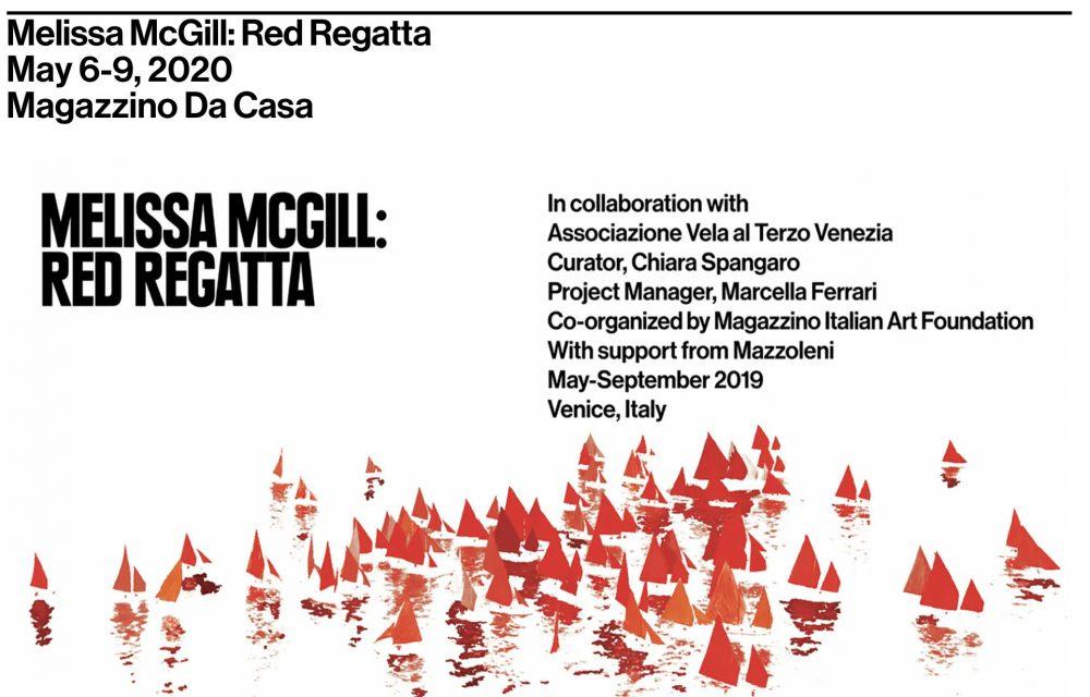 New film premiere — Melissa McGill: RED REGATTA